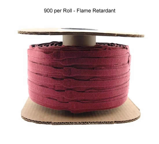 Fire Rated VELCRO® Brand ONE-WRAP® Cable Wrap