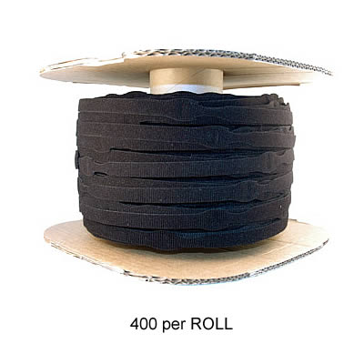 VELCRO® Brand ONE-WRAP® wire wraps: 400 per roll