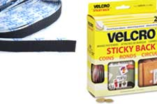 VELCRO® Brand dots and adhesive tape