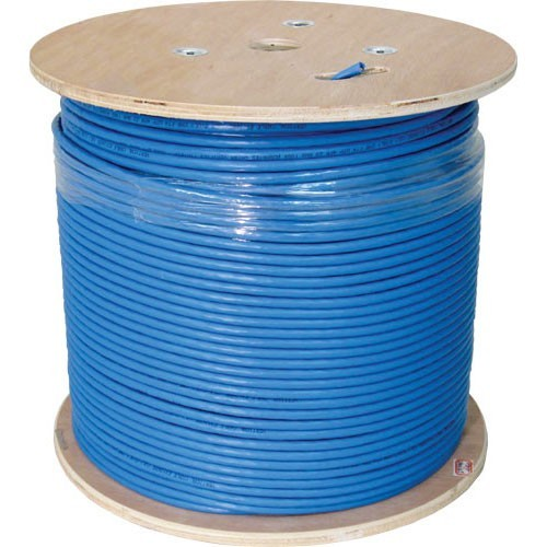 1000 Spool White, Cat6 Shielded Ethernet Cable 550MHZ STP