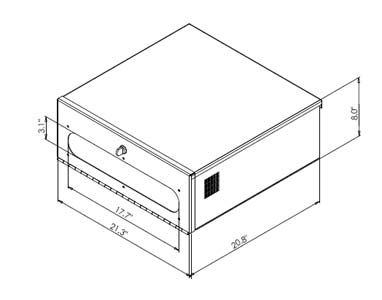 DVR-LB2 drawing dimension
