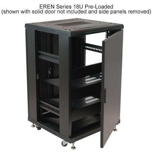 VMP Eren Series 18U with Solid Door and No Sides