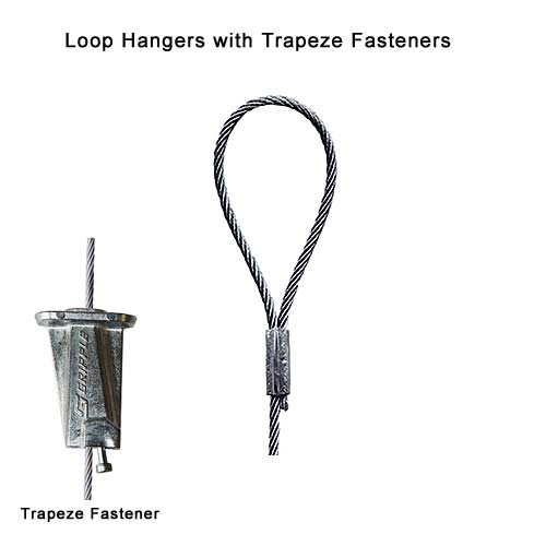 Pro-Hanger Tray System, Loop Hangers with Trapeze Fasteners - icon