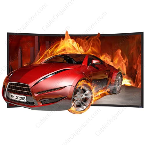 SilverStar 3D screen curved with car - icon