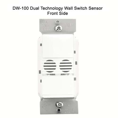 Watt Stopper dual technology wall switch sensor, front view without wall plate - icon