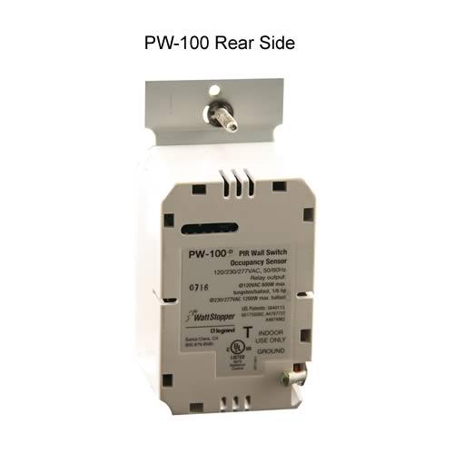 Watt Stopper passive infrared wall switch sensor, rear view - icon