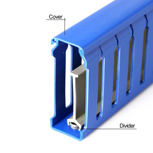 Wire Duct with cover and divider - icon