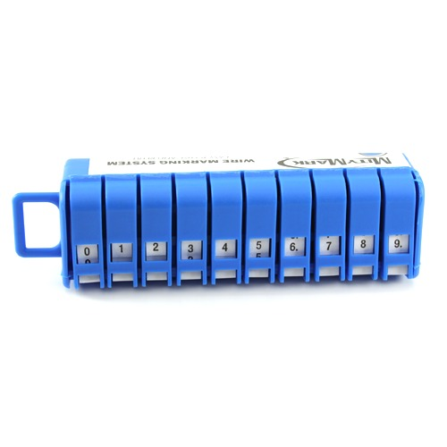 Wire Marker dispenser with numbers icon