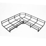WireRun Powder Coated Cable Trays WR-JL-2-6-BK