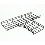 WireRun Powder Coated Cable Trays WR-JT-2-6-BK