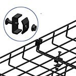 WireRun Powder Coated Cable Trays WR-CPLR-BK