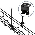 WireRun Powder Coated Cable Trays WR-HNGHOOK-BK