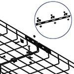 WireRun Powder Coated Cable Trays WR-STRBAR-BK
