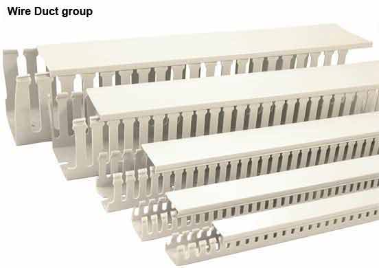 Economical open slot wiring duct in various sizes icon