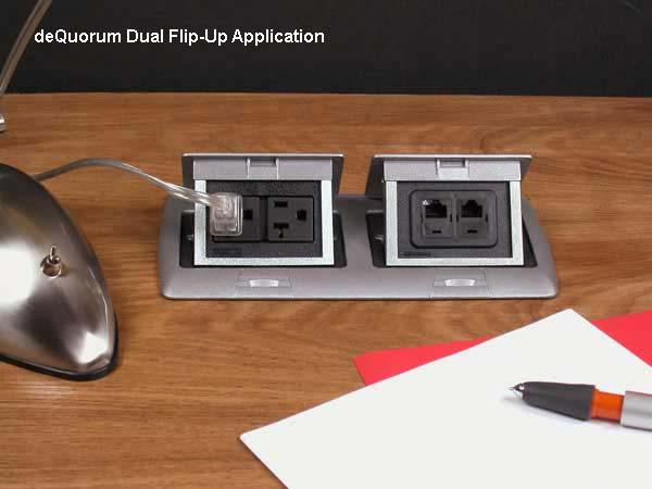 deQuorum Flip-Up Worksurface Portal application image icon