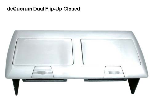 deQuorum Flip-Up Worksurface Portal closed icon