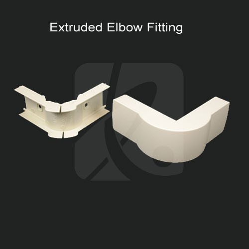 Wiremold Extructed Elbow Fitting