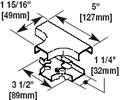 Wiremold Low Voltage Surface Raceways & Accessories SR2815FO-3T