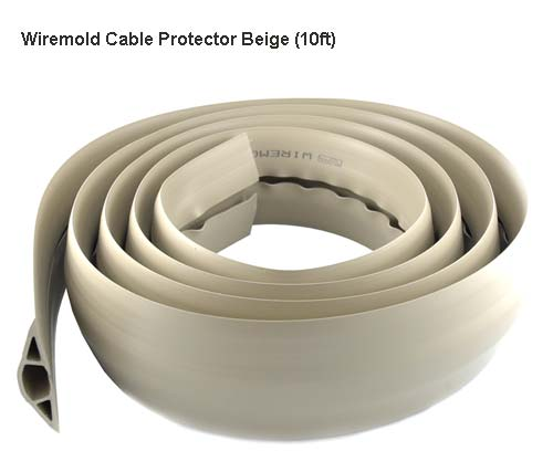 wiremold cable protector in black icon