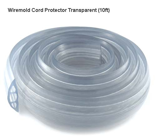 transparent cable protector