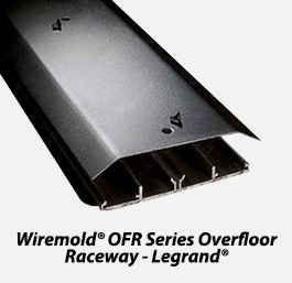Wiremold ofr series overfloor raceway legrand