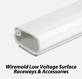 Wiremold low voltage surface raceways & accessories