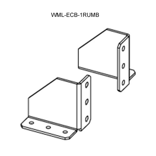 Wiremold Evolution Ceiling Box 1-Rack Unit Mounting Brackets