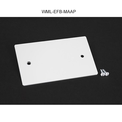 Wiremold Evolution Ceiling Box Blank Device Plate