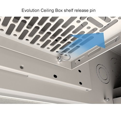 Wiremold Evolution Ceiling Box Shelf Release Pin