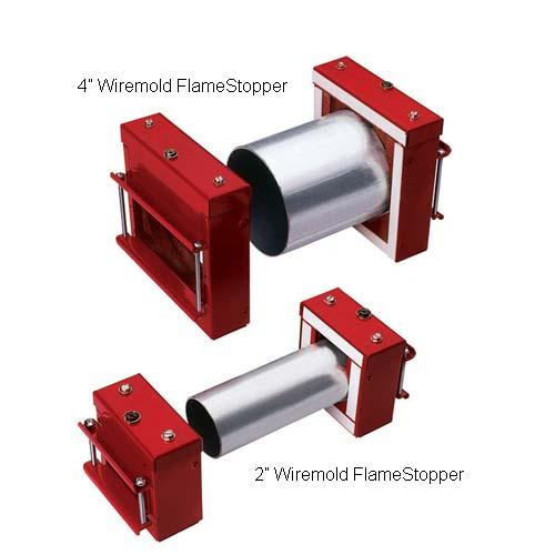 Wiremold FlameStopper Thru-Wall and Thru-Floor Fittings