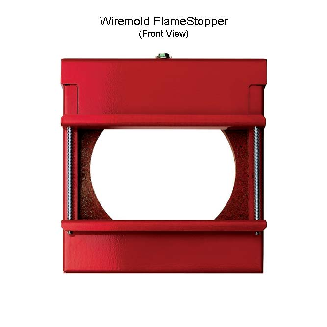 Wiremold FlameStopper front view - icon