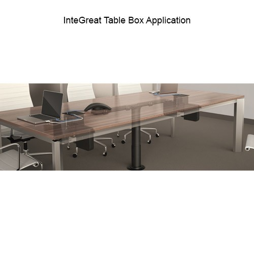 Wiremold InteGreat Table Box Application