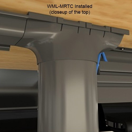 Wiremold Meeting Room Transition Channel Top Closeup - icon