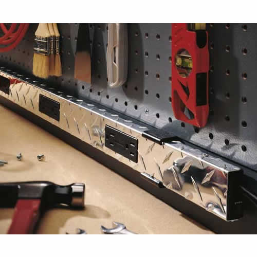 Close up application image of Wiremold Plugmold Tough multi-outlet power strip icon