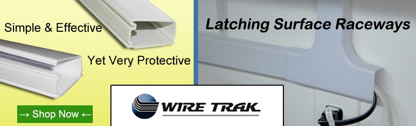 latching surface raceways are simple and effective