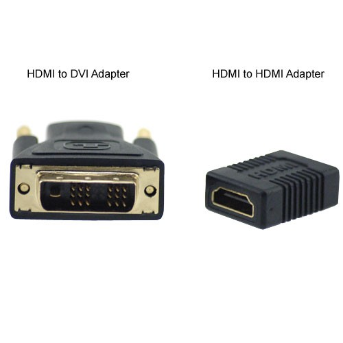 HDMI to DVI adapter and HDMI to HDMI adapter icon