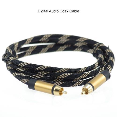 Digital audio coax cable image icon