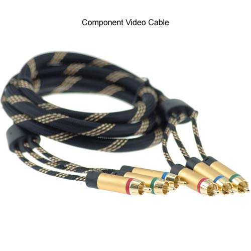 Component video cable image icon