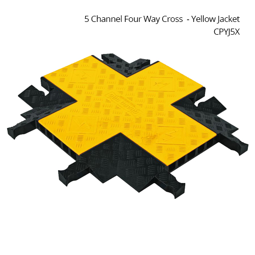 4 way intersection 5 channel Yellow Jacket